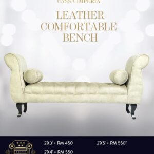 Cassa Imperia- Best Chesterfield Bench in Malaysia