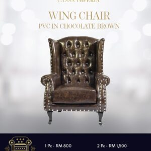 Best Chesterfield Wing Chair in Malaysia- Cassa Imperia
