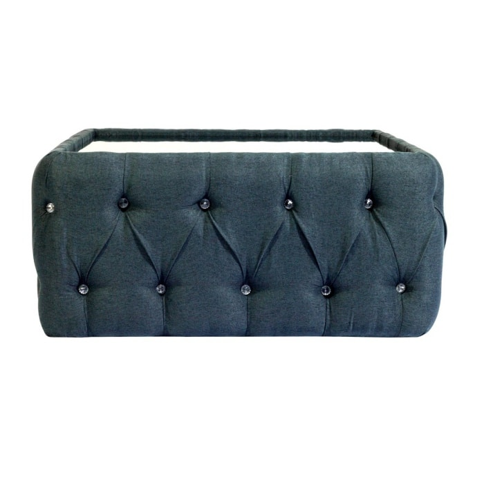 Chesterfield Furniture interior Design Trends Around The World -Leather fabric Coffee Table In Blue Color